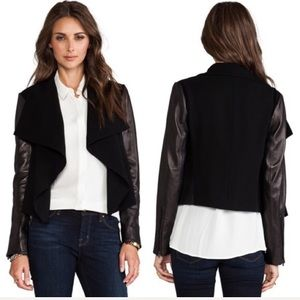 Diane von Furstenberg 8 Olympia leather jacket